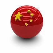 Bandera de la china — Foto de Stock