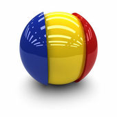 Flag of Romania — Stock Photo