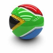 Bandeira da áfrica do sul — Foto Stock