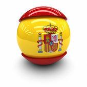 флаг испании — Стоковое фото