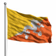 Flag of bhutan — Stock Photo #30018001