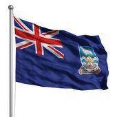 Flag of Falkland Islands — Stock Photo