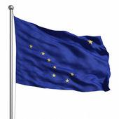 Flag of Alaska — Stock Photo