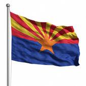 亚利桑那州的旗子 — 图库照片