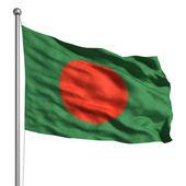 флаг бангладеш — Стоковое фото