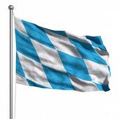 Bandera de baviera. — Foto de Stock