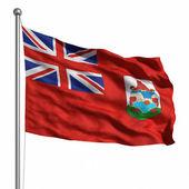 Bermudská vlajka — Stock fotografie