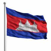 カンボジアの旗 — ストック写真