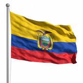 エクアドルの旗 — ストック写真