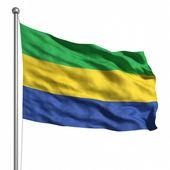 Vlajka gabonu — Stock fotografie
