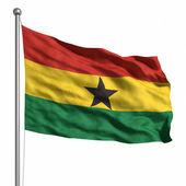 Bandera de ghana — Foto de Stock
