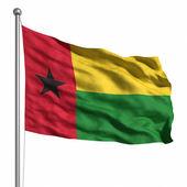 Bandera de guinea bissau — Foto de Stock