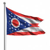 Flag of Ohio — Stock Photo