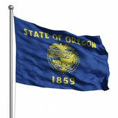 Vlajka oregon — Stock fotografie