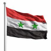 Bandera de siria — Foto de Stock