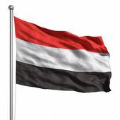 Bandera de yemen — Foto de Stock