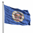 Stock Photo: Flag of Minnesota