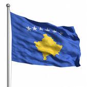 флаг косово — Стоковое фото