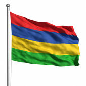 флаг маврикия — Стоковое фото