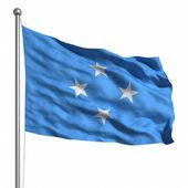 Mercan denizi adaları bayrağı — Stok fotoğraf