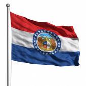 Missouri bayrağı — Stok fotoğraf