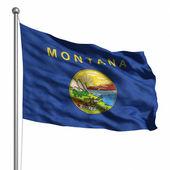 флаг монтаны — Стоковое фото