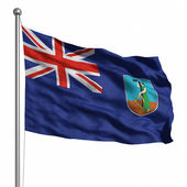 Montserrat bayrağı — Stok fotoğraf