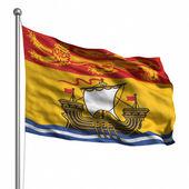 Bandeira de nova brunswick — Foto Stock