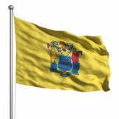 флаг нью-джерси — Стоковое фото