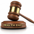 Health Care Law — Stock Photo