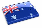 Flaga australii — Zdjęcie stockowe