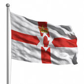 Bandeira da irlanda do norte — Foto Stock