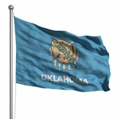 Flag of Oklahoma — Foto de Stock