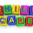 Play Blocks : CHILD CARE — Stock Photo