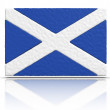 Flag of Scotland — Stock fotografie