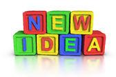 Play Blocks : NEW IDEA — Stok fotoğraf