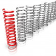 Stock Photo: Be different - Springs