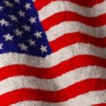 American Flag - Fluffy Flag — Stock Photo