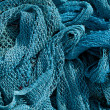 Heap of Commercial Fishing Net. — Stock Photo