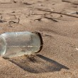 Pollution - Jar on Beach — Stock Photo #45719659