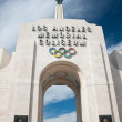 Los Angeles Olympic Coliseum - Stock Photo