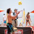 Stock Photo: AVP Beach Volleyball HermosBeach