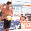 AVP Beach Volleyball Hermosa Beach — Stock Photo