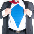 Business Man Superhero - Stock Photo