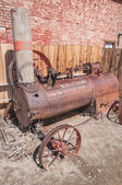 Steam Tractor — Stock Photo