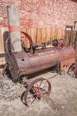 Trator de vapor — Foto Stock