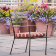 Garden Chair — Stock Photo