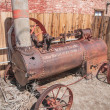 Steam Tractor — Stock Photo