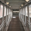 Train Station Stairs - Stock Photo