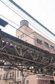 Suspended Train Track — Stock Photo